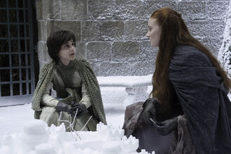 Robin Arryn e Sansa Stark