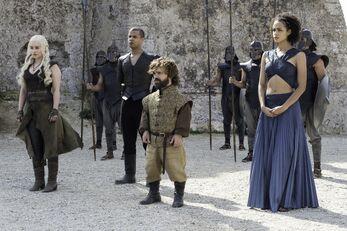 Dany, Verme Grigio Tyrion e Missandei vs Padroni