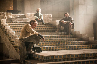 Jorah Tyrion e Daario
