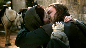 Catelyn e Ned ultimo saluto