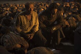Jorah e Daario inchinati