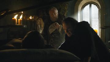 Cersei Pycelle Qyburn e Gregor