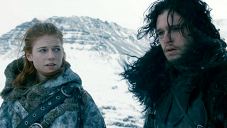 Jon snow and ygritte 2x03