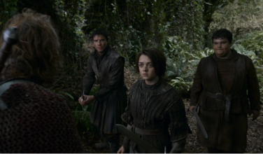 Arya, Gendry e Frittella Fratellanza