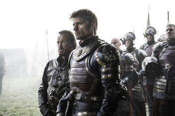 Bronn e Jaime Delta delle Acque
