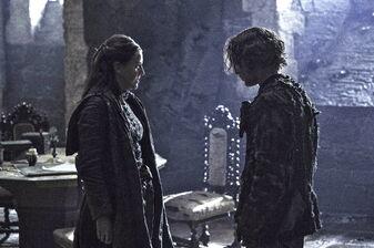 Theon torna da Yara S6