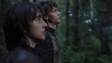 Bran e Jojen visione