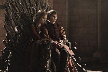 Cersei e Tommen Trono di Spade