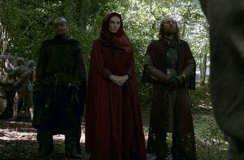 Beric Melisandre e Thoros