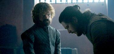 Tyrion parla con Jon