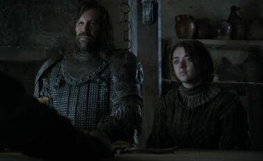Sandor e Arya Le due spade