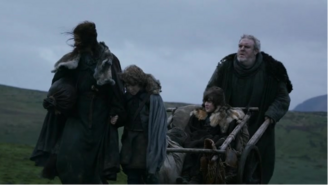 Bran Rickon Osha & Hodor