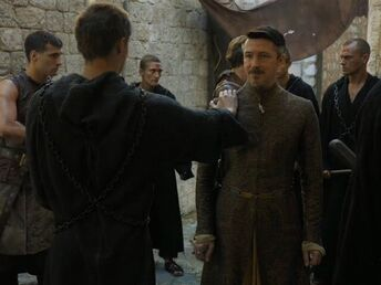 Lancel vs Baelish