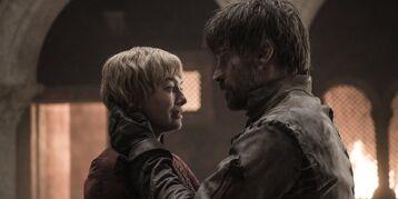 Cersei e Jaime riuniti S8