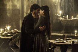 Robb and talisa stagione 3