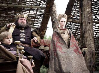 Robert e Cersei al torneo