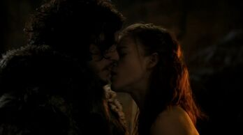Jon snow and ygritte 3x07