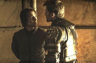 Edmure e Jaime Lannister