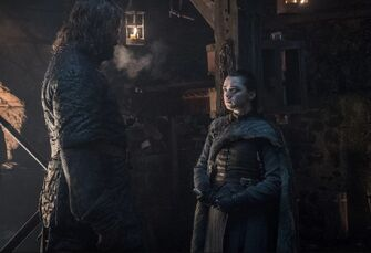Arya e il Mastino ricongiunti S8