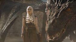 Daenerys and drogon 6x09