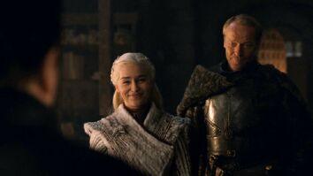 Daenerys ringrazia Samwell per aver salvato Jorah