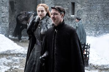 Sansa e Baelish a Grande Inverno