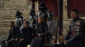 Cersei e Jaime Fossa del Drago
