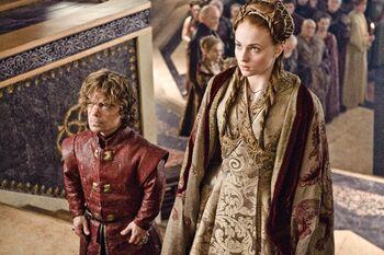 Tyrion e Sansa matrimonio