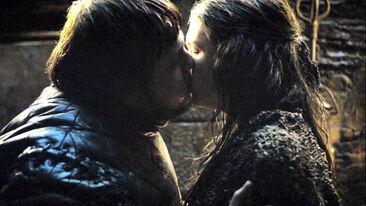 Sam e Gilly bacio