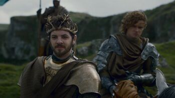 Renly and loras 2x05