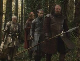 Robert Baratheon a caccia