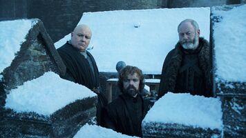 Varys Tyrion e Davos S8