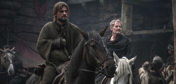 Jaime e Qyburn partono da Harrenhal