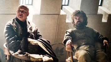 Varys e Tyrion negoziano S6