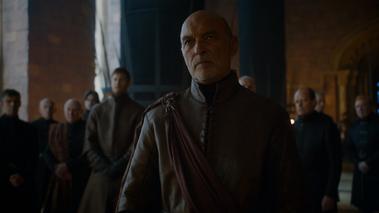 Randyll al cospetto di Cersei