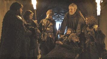 Sam con Bran e co