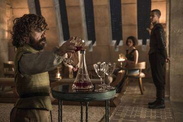 Tyrion Missandei e Verme Grigio a Meereen