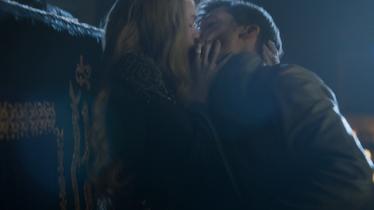 Cersei e Jaime bacio