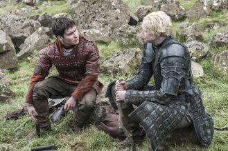 Podrick e Brienne