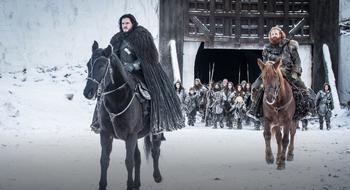 Jon e Tormund finale