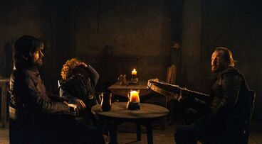 Bronn minaccia Tyrion e Jaime S8