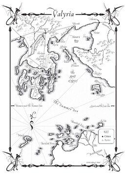 Valyria-Baia schiavisti mappa