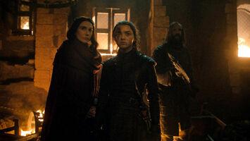 Melisandre Arya il Mastino