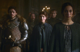 Robb, catelyn and talisa stagione 3