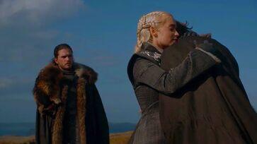 Jorah e Daenerys reunion