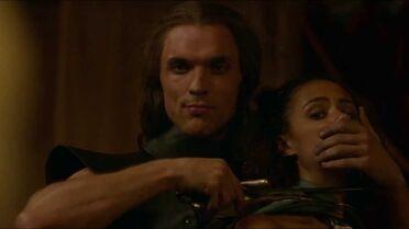 Daario tiene Missandei in ostaggio