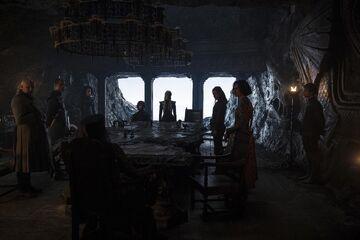 Consiglio di guerra di Dany a Roccia del Drago