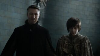 Petyr Baelish e Robin Arryn