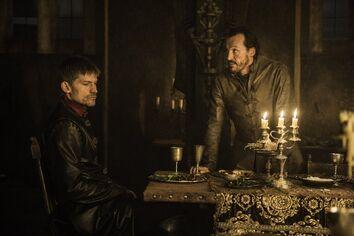 Bronn and Jaime Lannister S6 E10