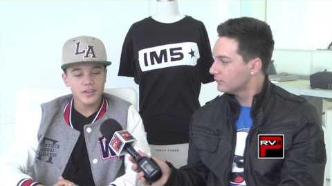 Dana Vaughns of IM5 talks tattoos and fan questions with Chris Trondsen